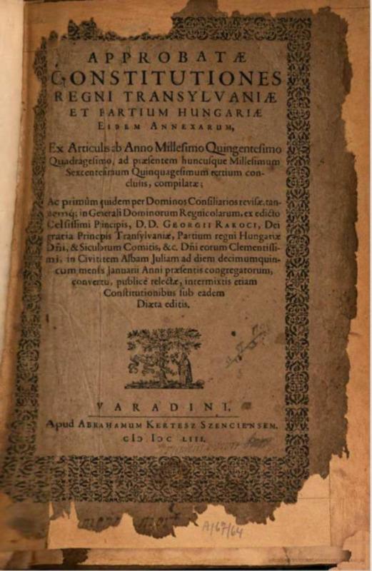 <em>Approbatae Constitutiones</em>